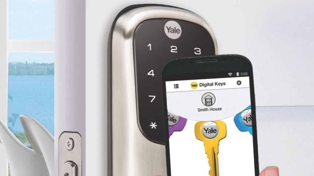 Nový chytrý zámek Yale spolupracuje se Samsung Galaxy Gear S2