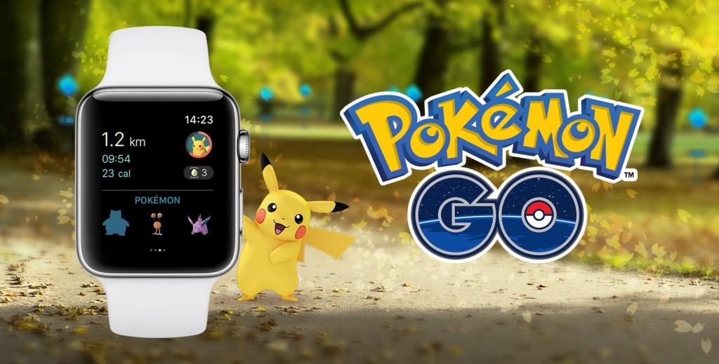 Aplikace Pokémon GO pro Apple Watch je nyní k dispozici