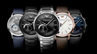 Chytré hodinky Emporio Armani Connected jsou dostupné ke koupi