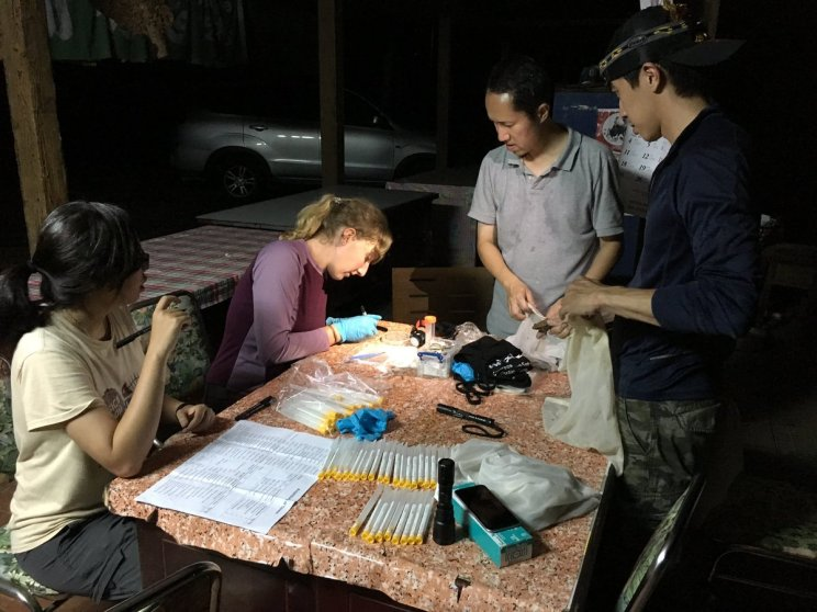 Fieldwork is a team effort and #Taiwan2017 would not have been possible without the help of Dr Dirk Schmeller and Lin Chun-fu and his field assistants.