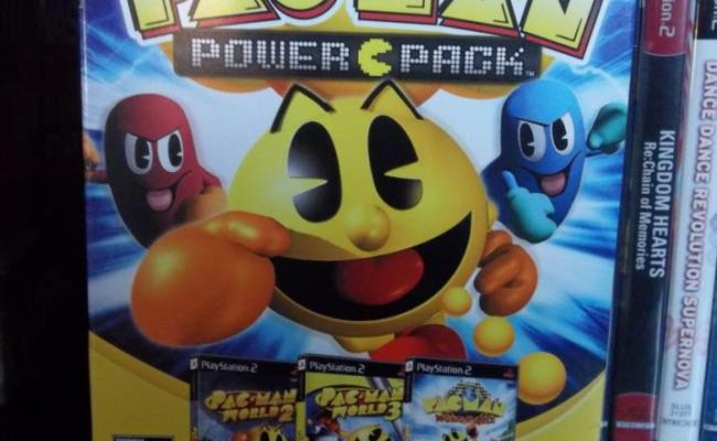 Pac Man Power Pack Bandai Namco Games 2008 Collected In