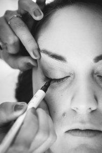 Préparatifs et maquillage