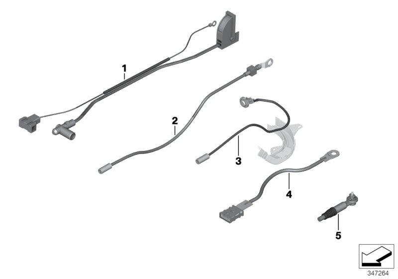 BMW, 3 E90 LCI, Saloon M3, ECE, 61 Vehicle electrical