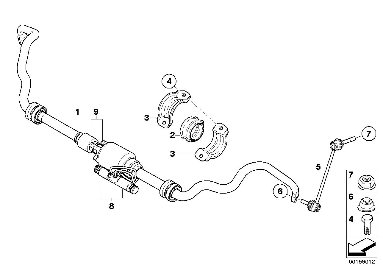 BMW, X5 E70, SAV X5 4.8i, ECE, 31 Front Axle, 31_0788