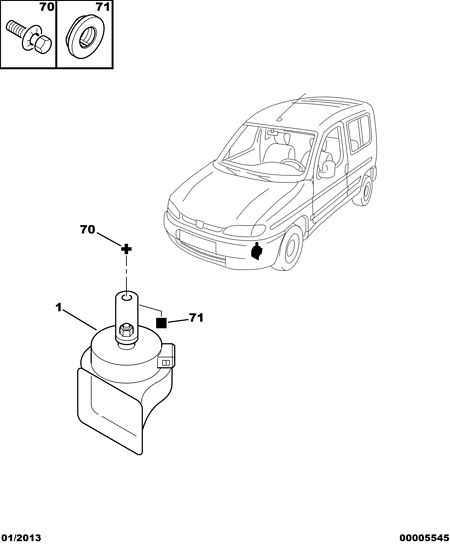 Model, Berlingo, Body: SHORT VAN 475 / Engine : without