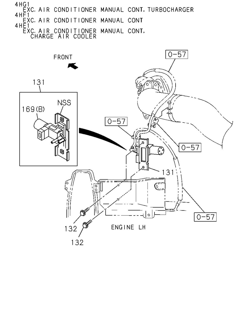 medium resolution of isuzu 4he1 engine diagram wiring library 2006 isuzu ascender engine diagram isuzu 4he1 engine diagram