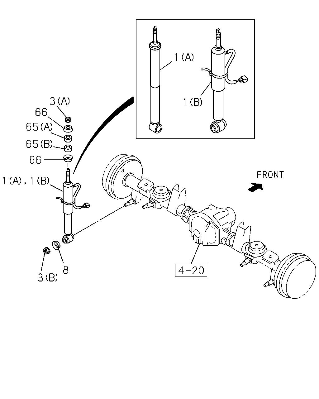 Hummer H2 Front Suspension Diagram
