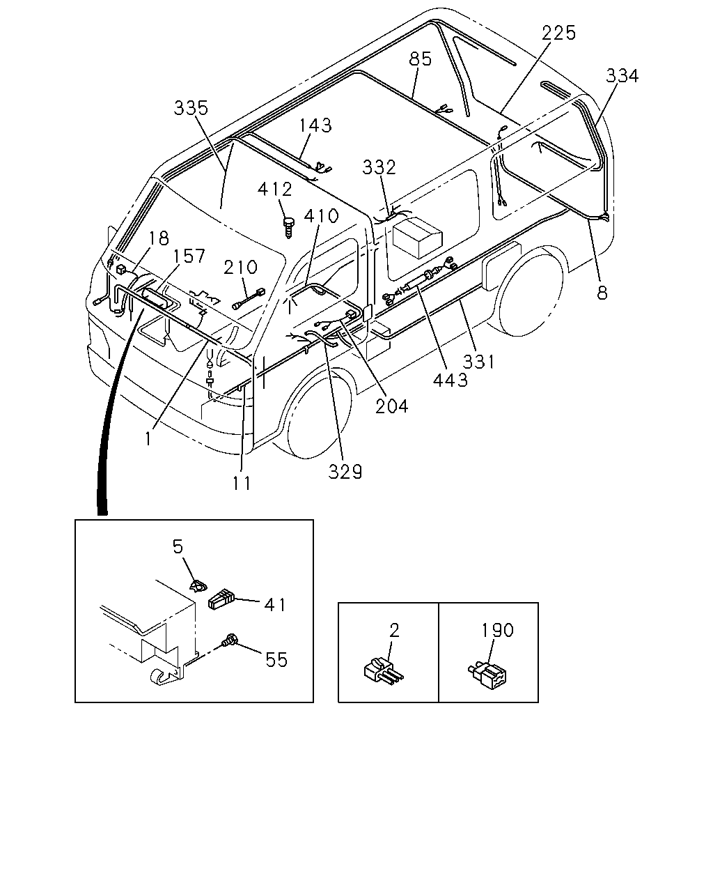 Ac Wiring Harness