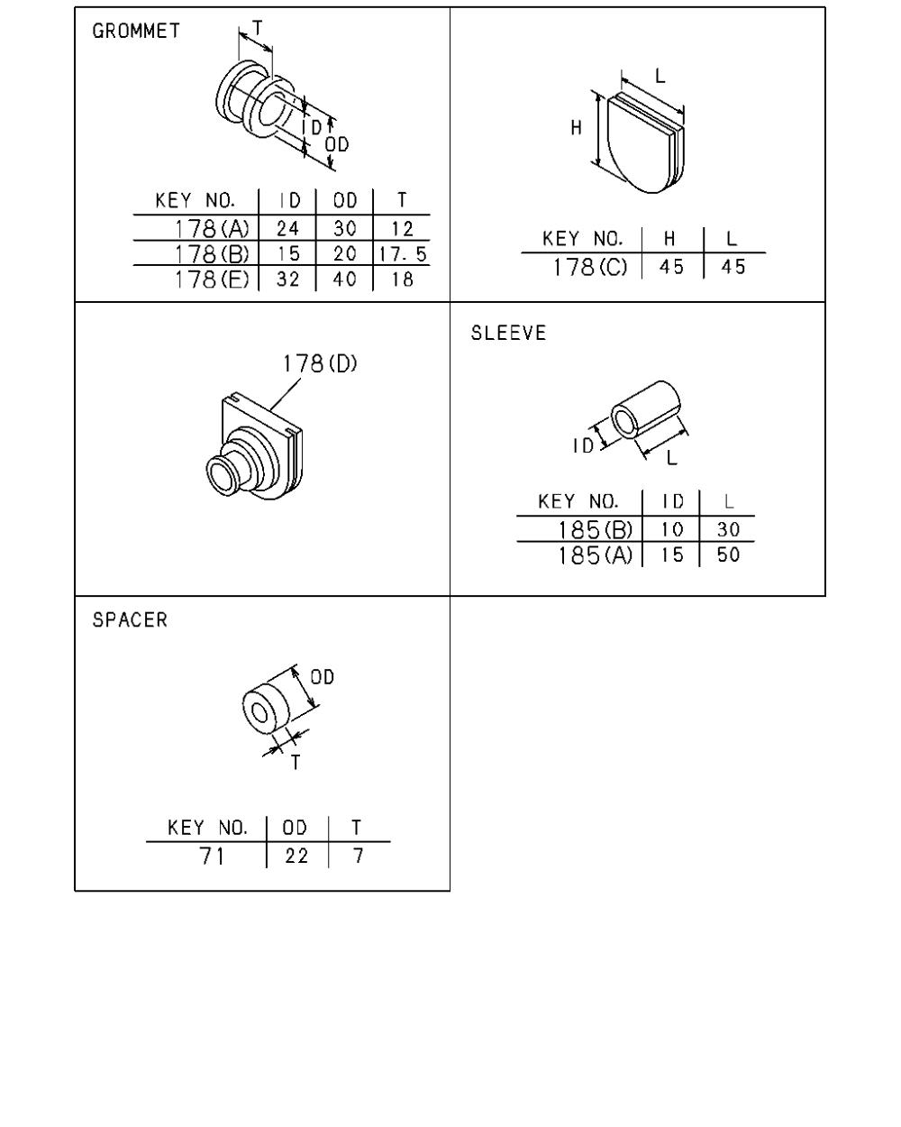 medium resolution of wiring diagram grommet key wiring diagrams scematic rh 51 jessicadonath de wiring diagram symbols ge wiring diagram symbol key