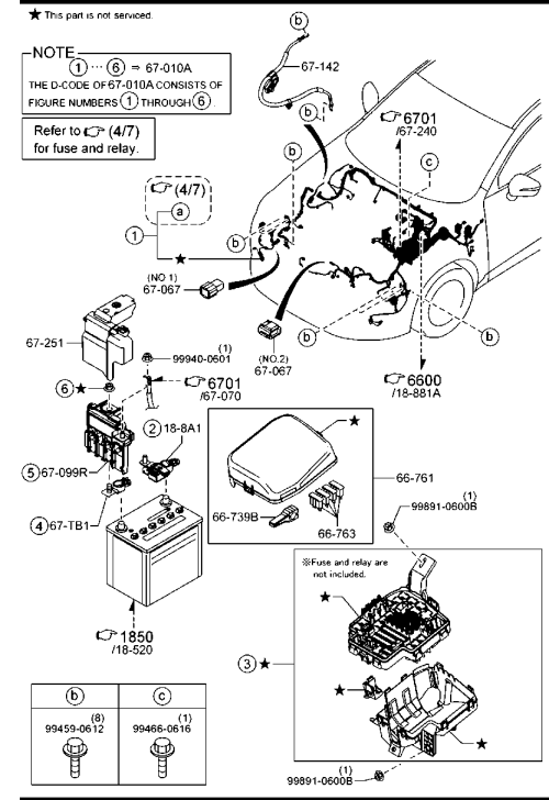 small resolution of  2003 mazda mx 3 rear wiring harness wiring diagram h8 on 1983 mazda rx7 wiring harness