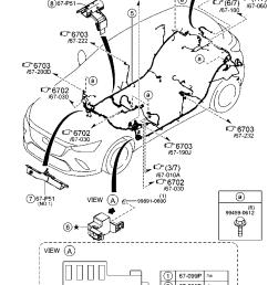europe mazda cx 3 dk 02 2015 body electronics 6700b front rear jeep patriot wiring harness mazda mx 3 rear wiring harness [ 833 x 1214 Pixel ]