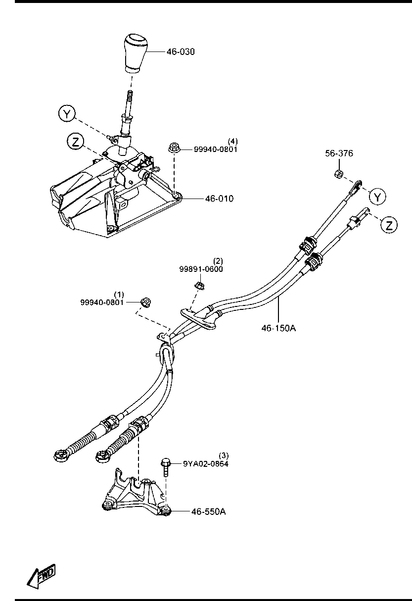 Middle East, MAZDA3 BM 09/2014-, CHASSIS AXLE SUSPENSION