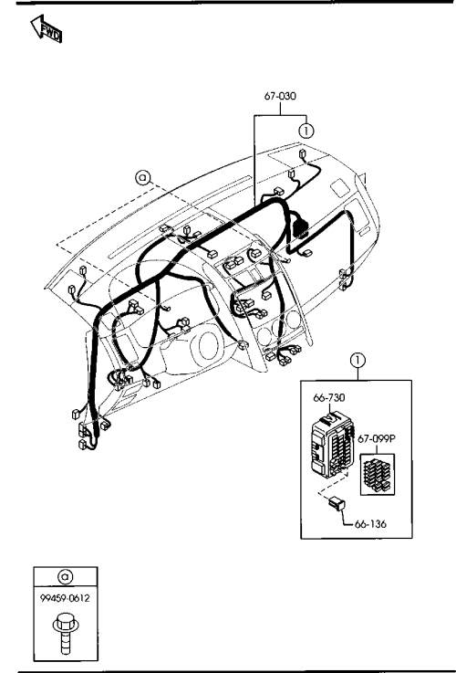 small resolution of middle east mazda cx 9 tb 09 2007 body electronics 6702a jeep wiring harness diagram 09 cx 9 wiring harness diagrams