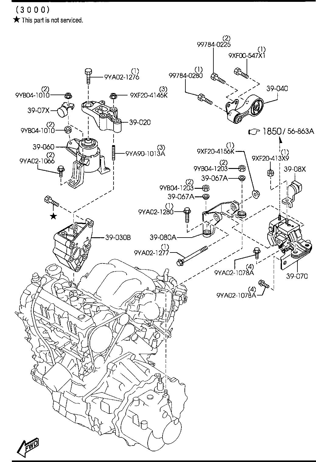 Mazda 6 V6 3 0L Engine Diagram / Mazda 6 V6 3 0l Engine