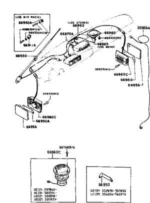 MAZDA E2000 VAN FUSE BOX  Auto Electrical Wiring Diagram