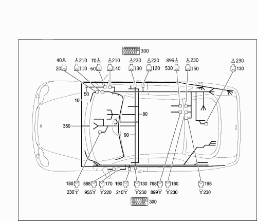 small resolution of code part number name comment footnotes quantity version 10 a 2104405005 wiring harness walkman