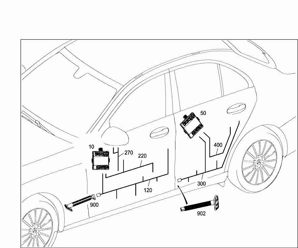 Car-Europe, 205.064 , 82 ELECTRICAL SYSTEM, 607 DOOR