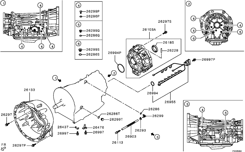 medium resolution of montero sport transmission diagram