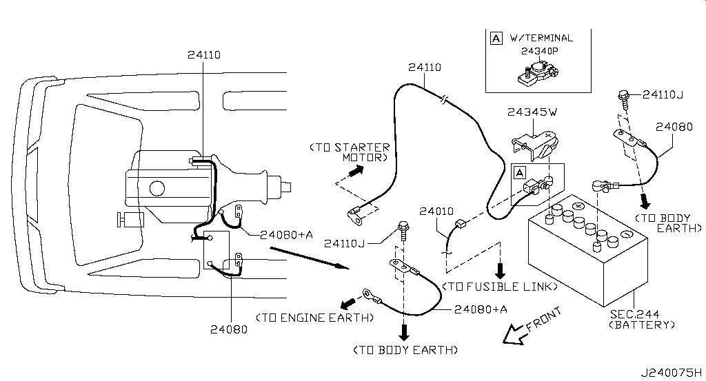 Nissan E25 Wiring Diagram
