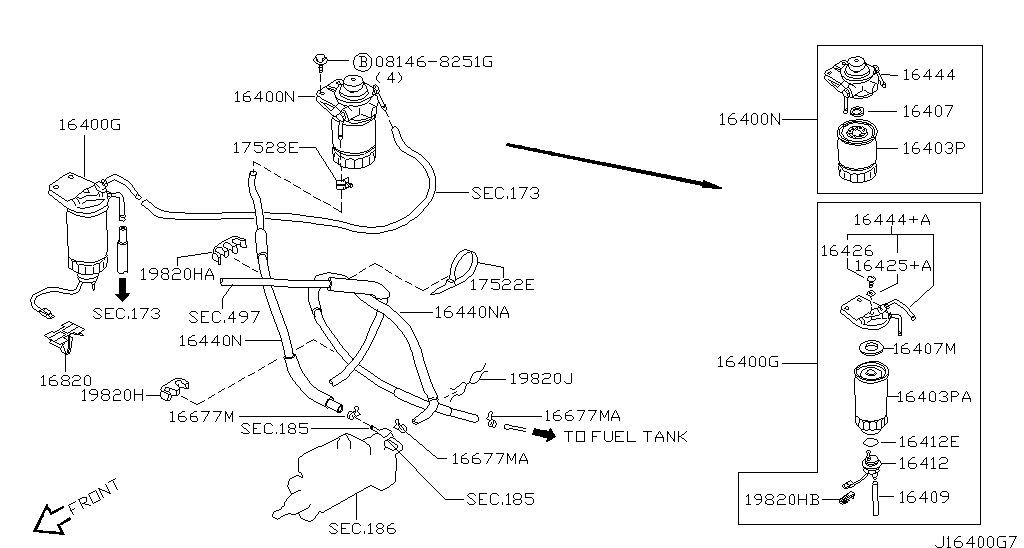 АЗИЯ леворульные, NISSAN TRUCK (D22), FUEL & ENGINE