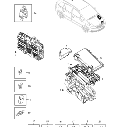 opel zafira b 2005 p electrical 10 fuse box fuses and relays  [ 2481 x 3508 Pixel ]