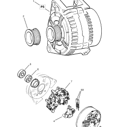 opel calibra 1989 1997 p electrical 1 engine and cooling 19 list of parts [ 1860 x 2631 Pixel ]