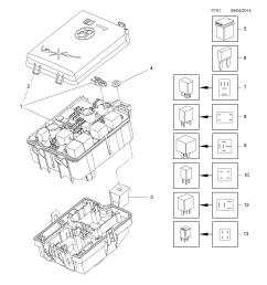 gm part number genuine part number description range fuse box  [ 2478 x 3504 Pixel ]