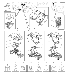 vauxhall meriva b 2010 p electrical 9 fuse box fuses and list of parts [ 2478 x 3504 Pixel ]
