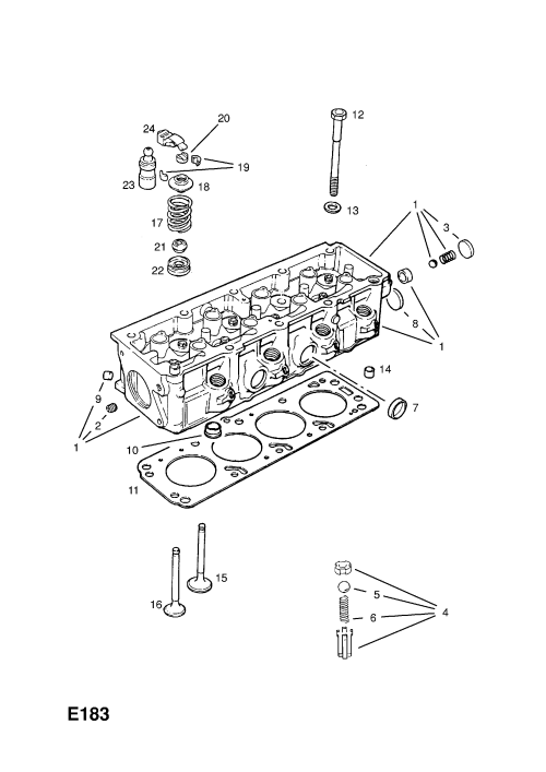 small resolution of list of parts model opel astra f