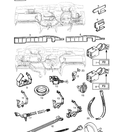 vauxhall astra f 1992 1998 p electrical 8 wiring harness 121 list of parts [ 1860 x 2631 Pixel ]