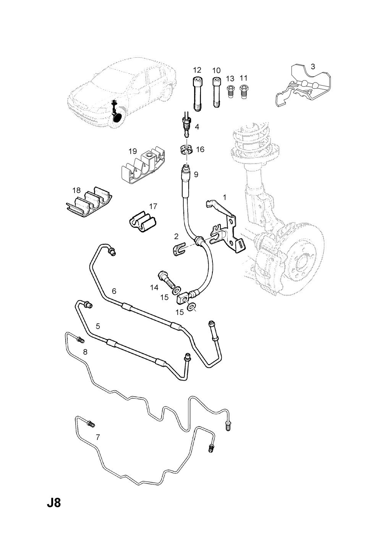 medium resolution of opel brakes diagram wiring diagramopel astra g zafira a 1998 2009 j brakes