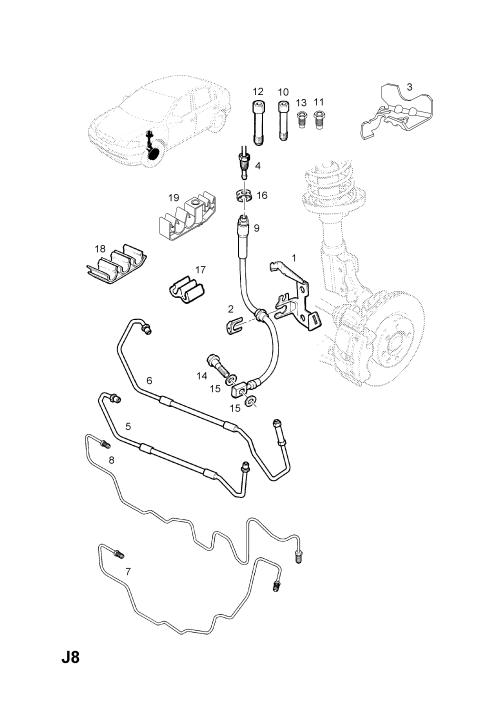 small resolution of opel brakes diagram wiring diagramopel astra g zafira a 1998 2009 j brakes