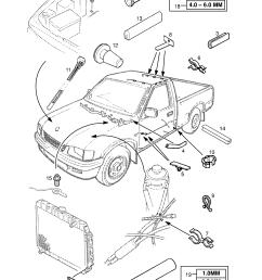 gm part number genuine part number description range wiring harness repair fittings  [ 1860 x 2631 Pixel ]
