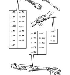 gm part number genuine part number description range water cooling fan harness  [ 1860 x 2631 Pixel ]