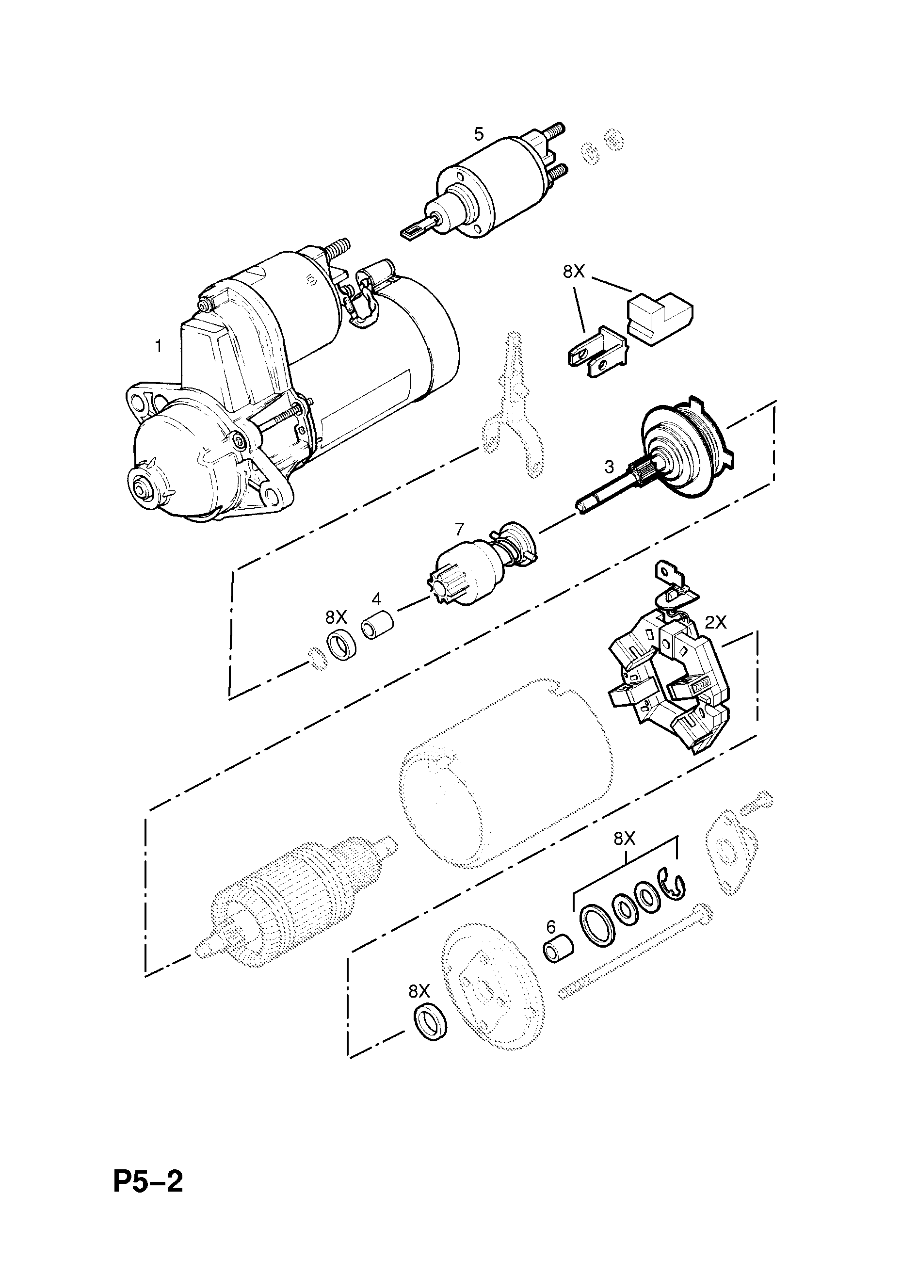 hight resolution of corsa starter motor wiring diagram