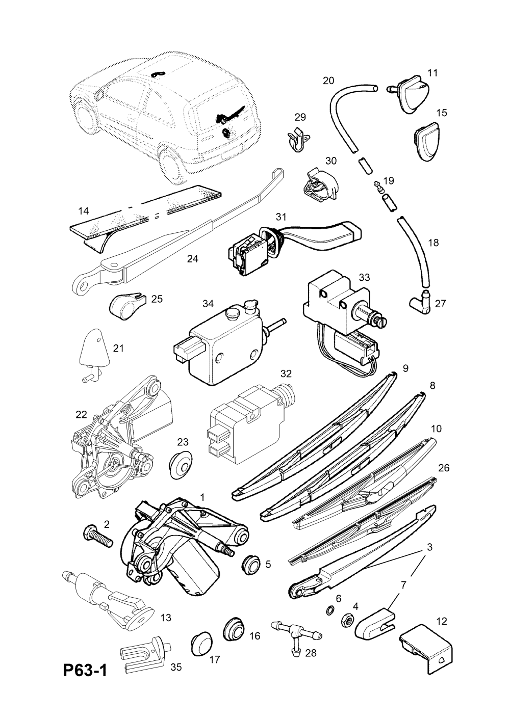 medium resolution of corsa c rear light wiring diagram wiring libraryvauxhall corsa c 2001 p electrical