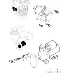corsa starter motor wiring diagram [ 2528 x 3556 Pixel ]