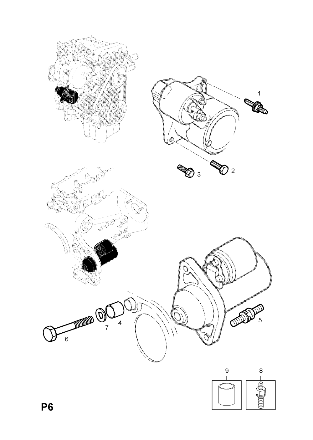 medium resolution of corsa starter motor wiring diagram