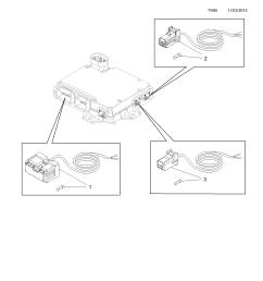 gm part number genuine part number description range canbus interface module harness  [ 2478 x 3504 Pixel ]