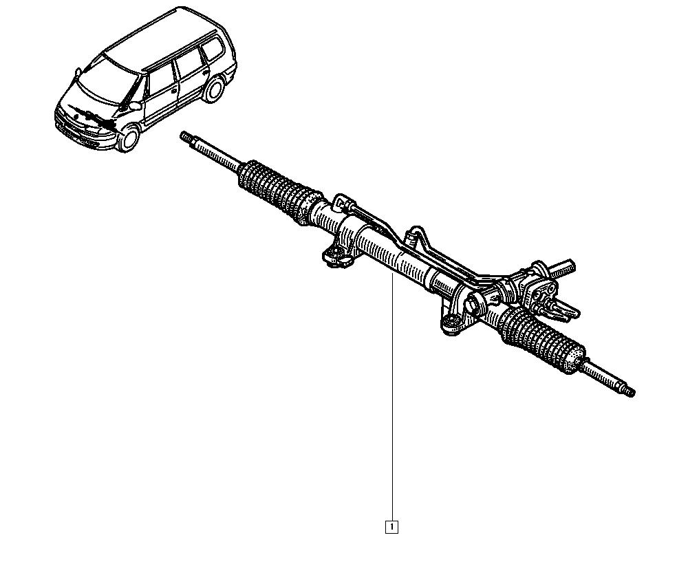 Espace III Avantime, JE0H, Manual, 36 Steering / Steering