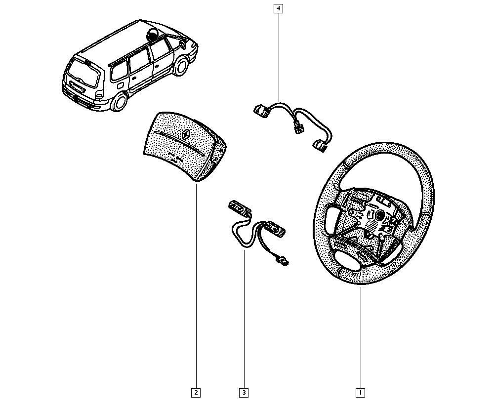 Espace III Avantime, JE0E, Manual, 36 Steering / Steering