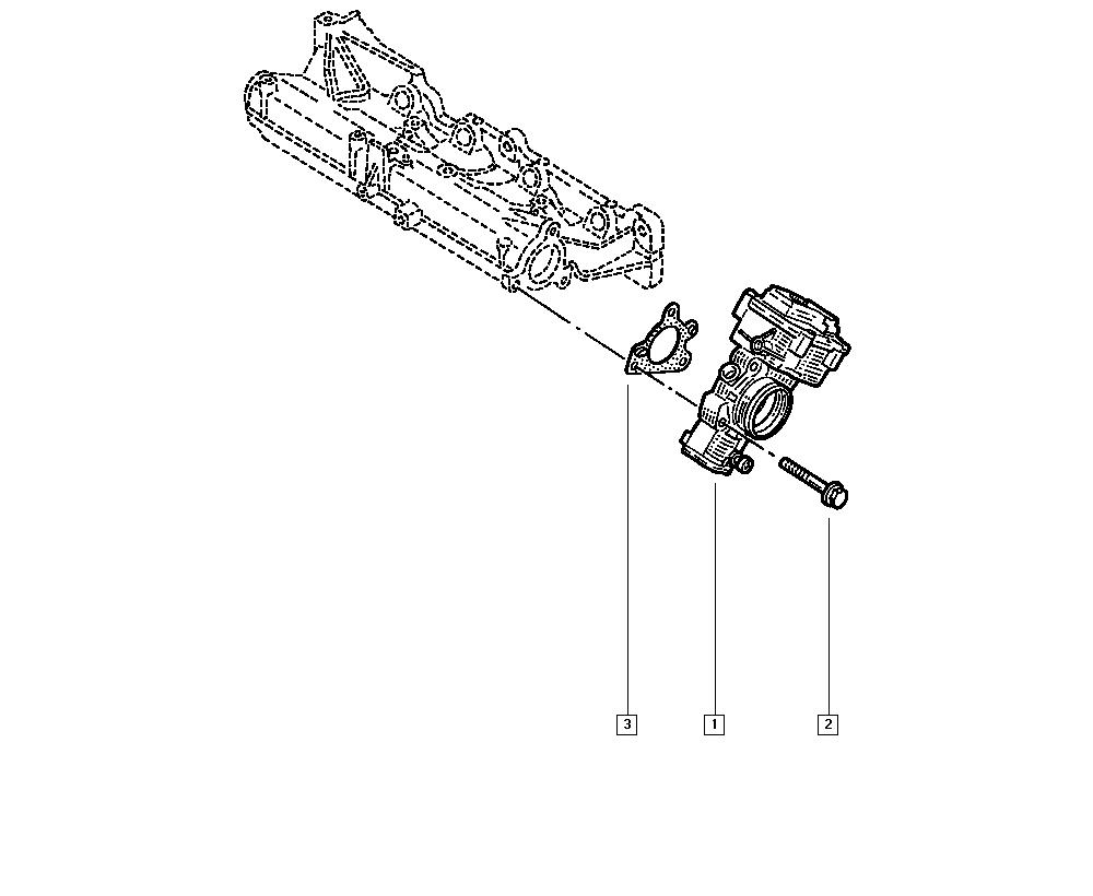Mégane II, CM2H, Manual, 12 Carburation / Fuel injection