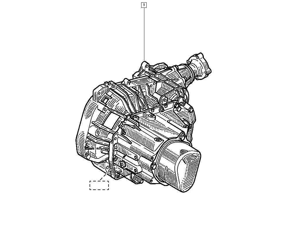 Kangoo, KC1N, Manual, 21 Manual gearbox / Manual gearbox