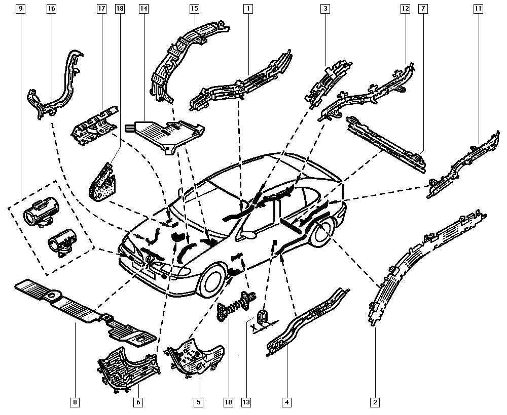 Renault Megane Cabriolet Wiring Diagram