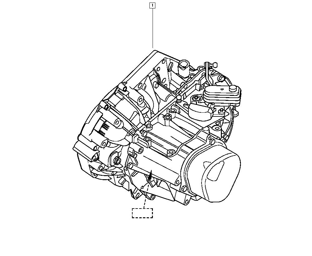 Mégane II, LM1R, Manual, 21 Manual gearbox / Manual