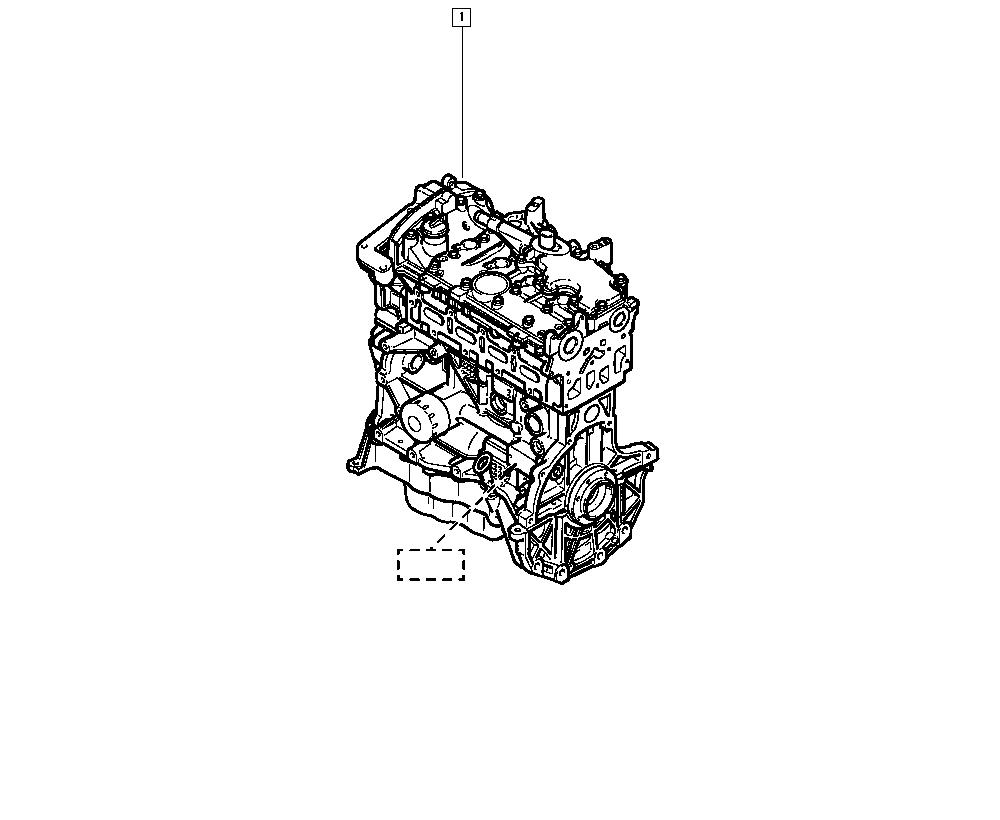 Scénic I, JA0D, Manual, 10 Engine / Complete engine