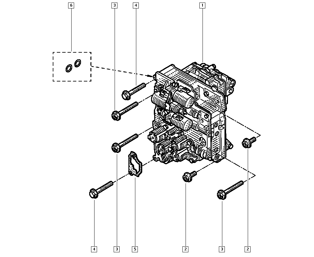 Espace IV, JK0J, Manual, 23 Automatic gearbox / Automatic