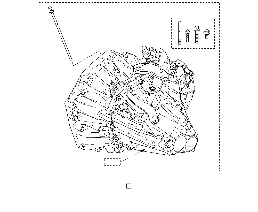 Scénic II, JM1R, Manual, 21 Manual gearbox / Manual