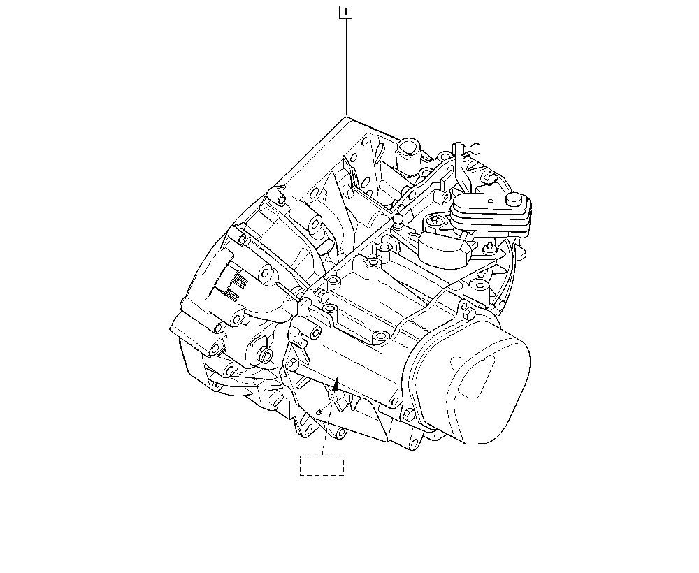Kangoo, FC1F, Manual, 21 Manual gearbox / Manual gearbox