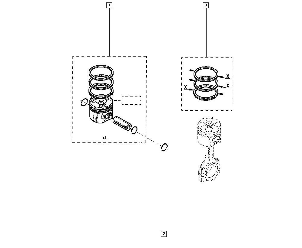 Scénic III, JZ0N, Manual, 10 Engine / Piston liners